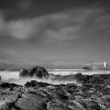 Godrevy rocky shore